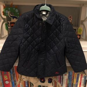 Burberry Boys Quilted Jacket
